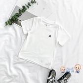 男童T恤 兒童卡通刺繡短袖t恤夏季2020新款寶寶圓領百搭體恤上衣男童t恤潮 6色