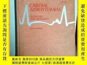 二手書博民逛書店英文書罕見cardiac arrhythmias second edition 心律失常第二版Y16354 詳