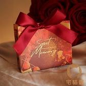 18個裝 禮盒包裝結婚禮物回禮品手提袋伴手禮紙盒【宅貓醬】