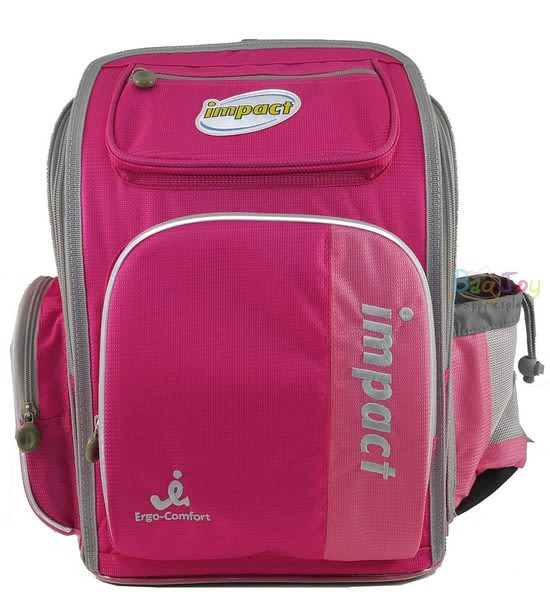 IMPACT 標準型護脊書包-粉紅 IM0050APK