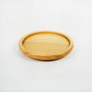 原點居家創意 圓形點心碟 北歐風格實木盤子 430CC馬克杯專用木盤