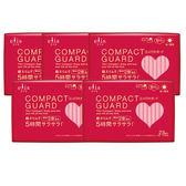 日本大王elis愛麗思 COMPACT GUARD GO可愛日用超薄23cm(23片/包)x5入組