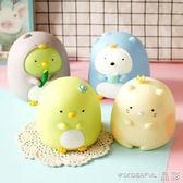 存錢罐 韓國創意可愛萌兒童防摔存錢罐儲蓄罐零錢罐送女生閨蜜生日禮物  晶彩生活