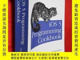 二手書博民逛書店iOS罕見5 Programming Cookbook: Sol