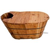 洗澡泡澡木桶浴桶沐浴桶成人浴盆浴缸兒童木質實木帶蓋熏蒸泡澡桶