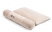 問雅頸椎枕護頸枕單人保健枕圓形糖果枕竹炭硬圓枕頭成人勁椎枕芯 超值
