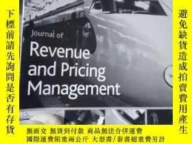 二手書博民逛書店Journal罕見of Revenue and Pricing