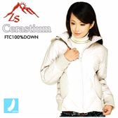 ZS Cerastium 低調時尚女款羽毛外套