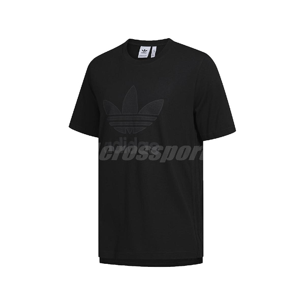 adidas 短袖T恤 Warm Up Tee 黑 白 男款 短T 運動休閒 【PUMP306】 GK0655