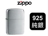 【寧寧精品】Zippo 原廠授權台中30年旗艦店終身保固防風打火機100%純銀復刻 現貨僅有一顆 4403-1