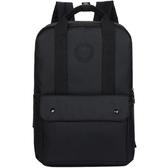 雙肩包男簡約時尚潮流男士手提背包學生書包女休閒街拍旅行電腦包