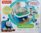 Fisher-Price 可攜式餐椅 湯瑪士小火車餐椅 寶寶餐椅 兒童餐椅 -超級BABY
