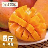 沁甜果園SSN.台南愛文芒果(6-8粒裝/5台斤)﹍愛食網
