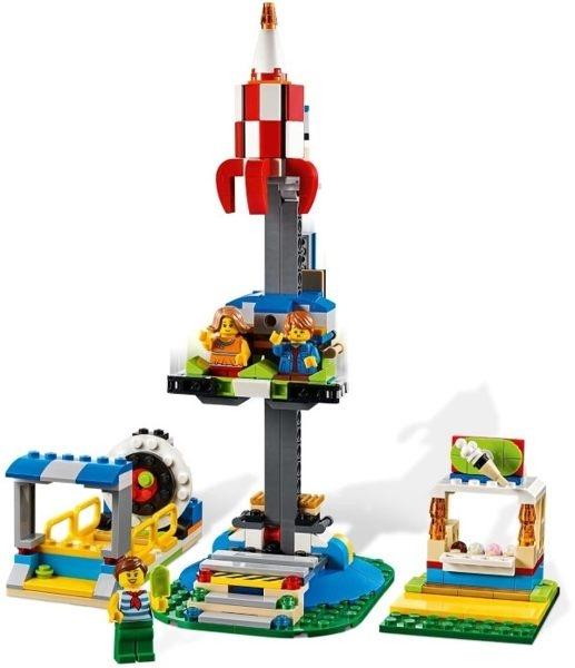 【LEGO樂高】CREATOR 遊樂場旋轉木馬 #31095