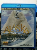 挖寶二手片-Q03-090-正版BD【阿拉斯加:野生動物的精神/ALASKA】-藍光影片(直購價)