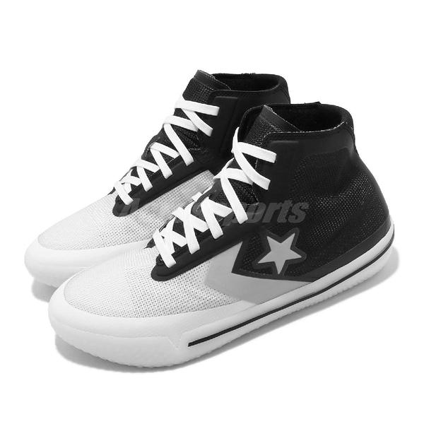 Converse 籃球鞋 Build It Up All Star Pro BB Hi 黑 白 男鞋 運動鞋 【PUMP306】 166803C