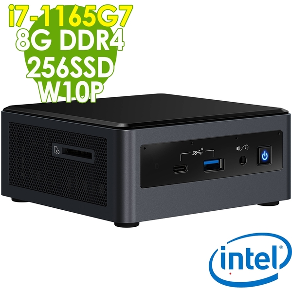【現貨】Intel 無線迷你電腦 NUC i7-1165G7/8G/256SSD/W10P