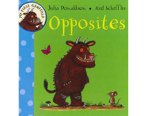 My First Gruffalo:Opposites 古肥玀學習書-對比概念