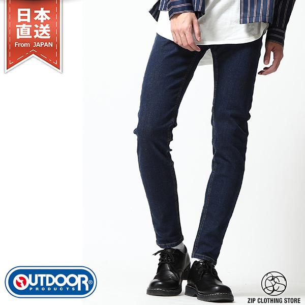 OUTDOOR PRODUCTS Skinny丹寧牛仔長褲 三色