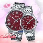 CASIO 卡西歐 手錶專賣店 MTP-TW100D-4A+LTP-TW100D-4A 對錶 石英錶 不鏽鋼錶帶 防水