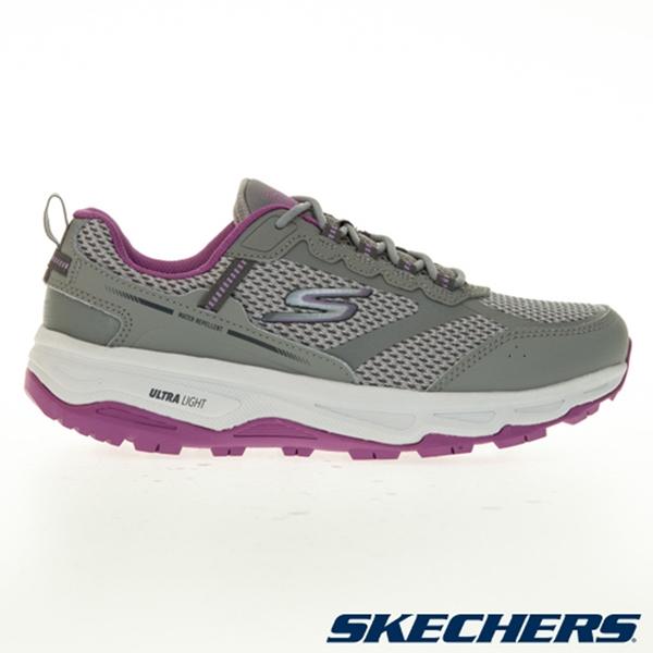 SKECHERS GORUN TRAIL ALTITUDE 女鞋 慢跑 寬楦 越野 防潑水 灰紫【運動世界】128200WGYPR