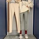 打底褲女外穿春秋季薄款新款緊身褲彈力騎行褲修身小腳褲子 快速出貨