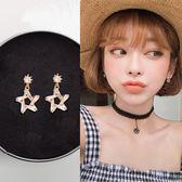 無耳洞耳夾星星耳釘女氣質韓國個性網紅潮人百搭短款耳墜純銀耳環  可然精品