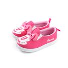 Disney Minnie Mouse 迪士尼 米妮 懶人鞋 帆布 桃紅色 中童 D119834 no149