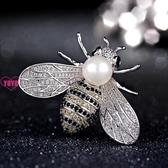 YoYo 胸針 胸花別針 小蜜蜂 百搭 開衫 珍珠配飾