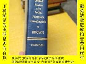二手書博民逛書店The罕見United States AND India,Pakistan,Bangladesh-BROWNY