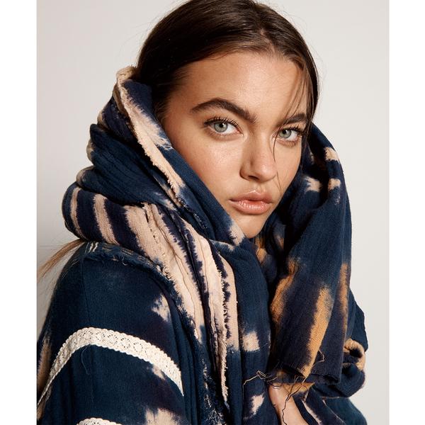 ONETEASPOON WW HAND TIE DYE SANTORINI BLANKET 圍巾-(女)