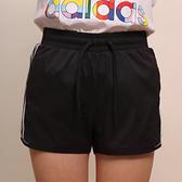 ADIDAS 短褲 專業訓練 3-STRIPES 運動短褲 黑 白線 女 (布魯克林) GJ9031