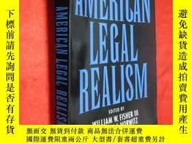 二手書博民逛書店American罕見Legal Realism (小16開) 【