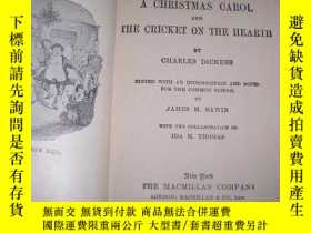 二手書博民逛書店The罕見Cricket on the Hearth: and
