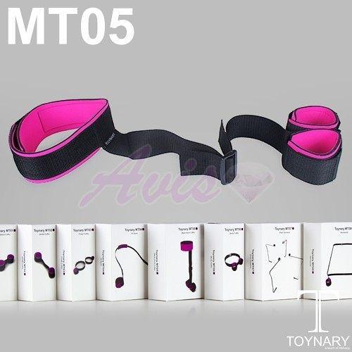 情趣用品 SM性愛情趣香港Toynary MT05 Neck Hand Cuffs 特樂爾 縛頸式手銬 +潤滑液60ML