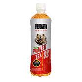 熊霸能量果茶蜜桃紅玉540ml【愛買】