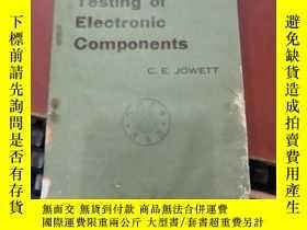 二手書博民逛書店compatibility罕見testing of electronic components(P3577)Y