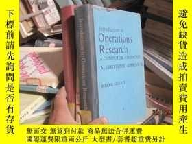 二手書博民逛書店7803罕見Operations?Research:An?Int