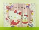 【震撼精品百貨】Hello Kitty 凱蒂貓~卡片-點點粉