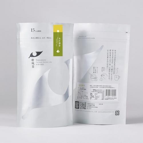 Teascovery 發現茶~熱泡立體茶包-禾日綠茶品嘗袋茶包15入(發芽米綠茶)