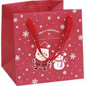 《荷包袋》食品袋 ★耶誕慶典★ (4吋蛋糕袋) 【20入】