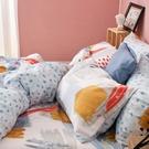 床包兩用被組 / 雙人加大【希涅克】含兩件枕套 60支天絲 戀家小舖台灣製AAU315