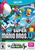 WiiU New Super Mario Bros. U + New Super Luigi U New 超級瑪利歐兄弟 U+超級路易吉 U(美版代購)
