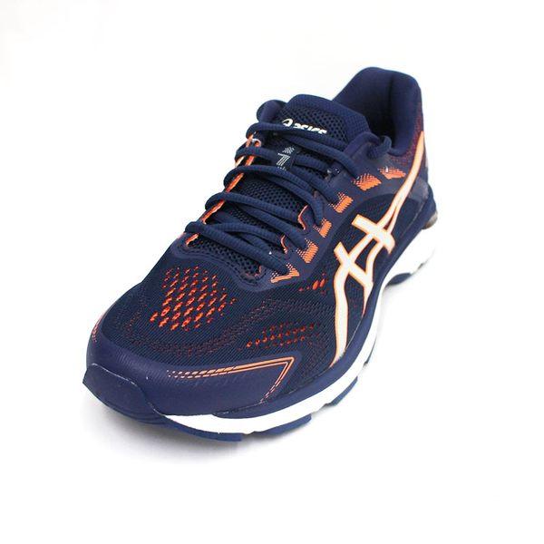 (A1)ASICS 男 GT-2000 7 2E寬楦 高緩衝 支撐 亞瑟膠慢跑鞋 1011A159-400 [陽光樂活]