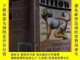 二手書博民逛書店英文書saui罕見bellow henderson the rain king索伊吼叫著雨王亨德森Y16354