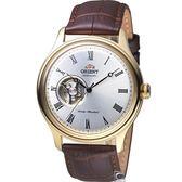 ORIENT 東方錶 小鏤空機械錶 皮帶款 FAG00002W