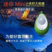 野外露營裝備用品LED戶外吊馬燈應急地行動照明帳篷掛燈可充電池 igo 喵小姐