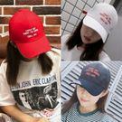帽子女夏天字母刺繡棒球帽