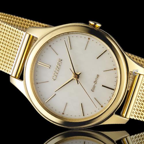 CITIZEN LADY'S 典雅大方米蘭時尚腕錶 EM0502-86P