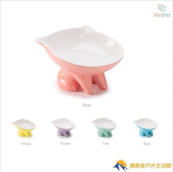貓碗陶瓷扁臉貓飯盆食盆幼貓糧碗貓咪水碗狗碗